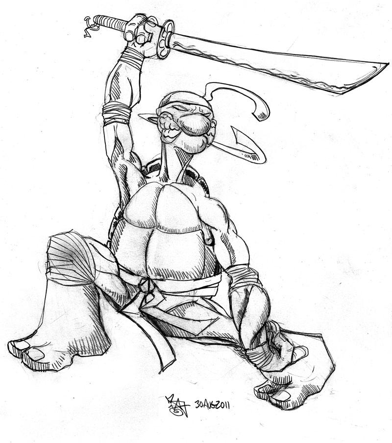 artist show off showdown 80 teenage mutant ninja turtles